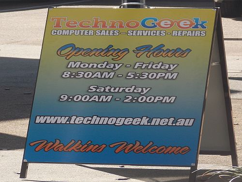 Technogeek Computer Repairs Kallangur support you all the way.